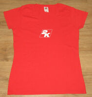 2K Take-Two Interactive very rare STAFF  T-Shirt  from Gamescom size women's M