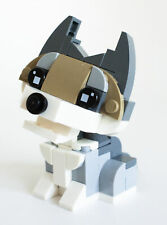 Constructibles Baby Wolf Mini Build - LEGO® Parts & Instructions Kit