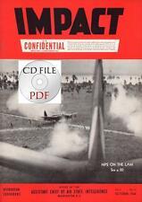 CD File 3 Impact 1944 10 11 12 V2 Rockets Damaged B-17 XB-24N Zeke Metz Forts