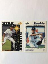 1996 Score Rookie Lot #240 Derek Jeter + Star Struck New York Yankees NM