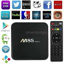 M8S PRO 4K*2K RK3368 Octa-core Android 5.1 Smart TV Box H.265 WiFi 2+8G HD Media