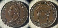 Masonic Tokens : 1 Penny Washington Ch 43 R.A.M. Chicago ILL    IR5668