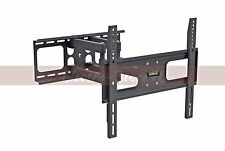 TV Wall Mount Full Motion Tilt Swivel 32 39 40 42 55 Inch LED LCD Bracket VESA
