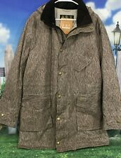 New BARBOUR Foreland Dot Dash Pattern Waxed Cotton Jacket Men's Size XL NWT