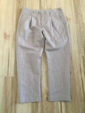 Linen Hand-wash Only Capris, Cropped Pants for Women