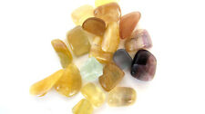 Gold Yellow Multi Fluorite 10-25mm 3oz C30-9