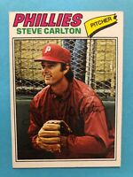 1977 Topps Baseball Card #110 Steve Carlton Philadelphia Phillies HOF