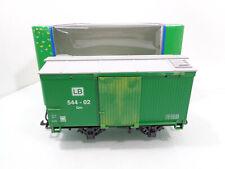 LGB ToyTrain 94267 Gedeckter Güterwagen LB 544-02 Gm grün in OVP HS4392