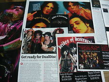 BRIDES OF DESTRUCTION - MAGAZINE CUTTINGS COLLECTION (REF B1)