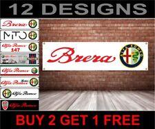 Alfa Romeo Banner Schild Werkstatt Garage Spur Werbung