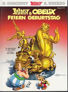 """Asterix Band 34 """"... und Obelix feiern Geburtstag"""", Erstauflage 2009 - Neuwertig"""