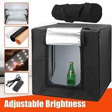 Photo Studio Lighting Box Mini Portable Photography Backdrop LED Light Room Tent