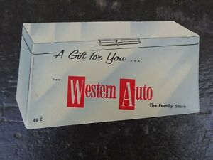 Vintage WESTERN AUTO Needle Book Made in West Germany