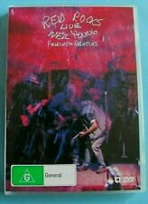 NEIL YOUNG Friends & Relatives Red Rocks Live DVD REGION 4  see below