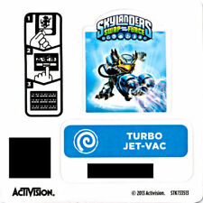 Turbo Jet-Vac Skylanders Swap Force Sticker/Code Only!