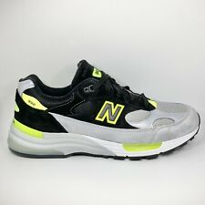 New Balance 992 12 Shoes Black Grey Volt Men's Size MADE IN USA M992TQ
