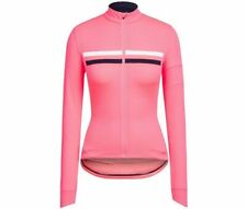 Rapha Brevet women 's long sleeve cycling bicycle jersey pink SMALL S BNWT NEW