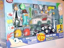 Disney Phineas & Ferb My Ride Exclusive Playset Action Figures 28 Pieces New NIB