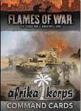 Tarjetas De Comando Afrika Corps-llamas de la guerra-en Stock ahora-enviado 1ST Clase