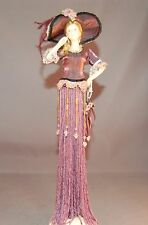 "2004 Putting ON the Ritz Vanity/Dresser Doll ""Florence"" Victorian Tassel Doll!"
