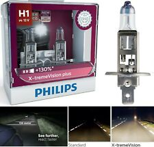 OpenBox Philips X-Treme Vision Plus 130% H1 55W Two Bulbs Head Light Low Beam
