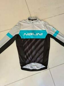 Nalini long sleeved cycling jersey - size L - as new