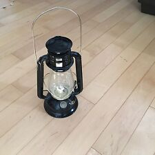V & D Black Decorative Lantern With Wick