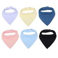 Cotton Baby Boys Girls 1PC Bandana Bibs Feeding Saliva Towel Dribble Triangle
