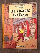 TINTIN - LES CIGARES DU PHARAON  - B14 - EO Couleur FR - 1955 - BE+