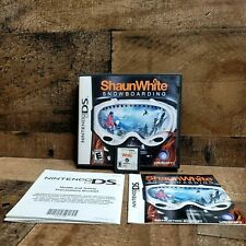 Shaun White Snowboarding NINTENDO DS Sports (Video Game) Complete With Manuel