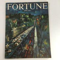 VTG Fortune Magazine April 1951 Stories about Soviets & Naval Stores, No Label