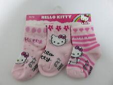 3 Paar Söckchen * Hello Kitty *  * Neu & OVP * 10 - 12  Monate