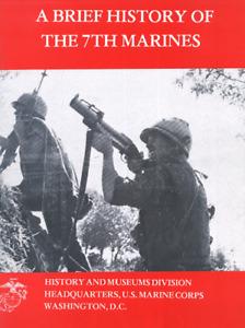 WW I WW II 7th Marine Regiment Peleliu Guadalcanal Chosin Reservor History Book