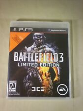 Battlefield 3 -- Limited Edition (Sony PlayStation 3, 2011)  Disc and Case