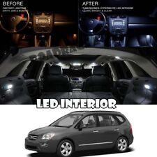 For 07-10 Kia Rondo LED Xenon Interior Light Bulb White Package Kit Reverse 8pcs