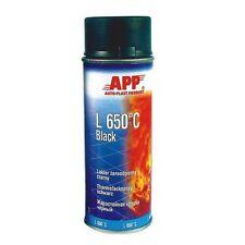 1 bombe de peinture haute température noir aérosol 650° (PE04)