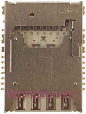 SD SIM Conector Tarjeta Lector Memory Card Reader Connector LG G2 Mini