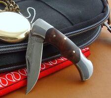 Couteau Damas 37 Couches Boker Magnum Lady Manche Bois Lock BOM788DAM