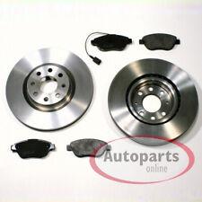 Fiat Grande Punto 199 - Bremsscheiben Bremsen Bremsbeläge Warnkabel für vorne