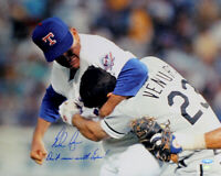 Nolan Ryan Autographed Ventura Fight 16x20 Photo Don't Mess With Texas TRISTAR