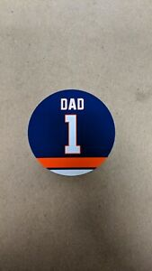 New York Islanders  Custom Magnet - 4 Inch - #1 Dad - Father's Day Gift