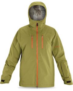 New Dakine Logan 2L Gore-Tex Shell Snowboard Jacket Men's Large Moss Green
