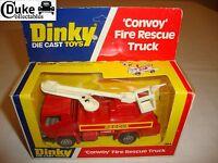 DINKY 384 'CONVOY' FIRE RESCUE TRUCK - NR MINT in original BOX