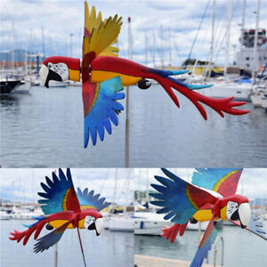 Whirligig Asuka Series Windmill Whirly Parrots Spinner Garden Lawn Decoration