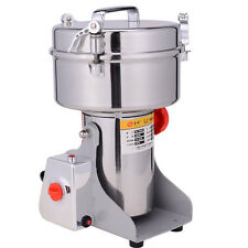 2Kg Stainless Steel Grains Mill Major Grinding Machine Grinder Food Pulverizer