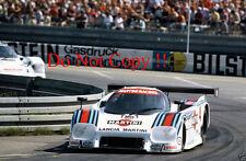 Alessandro Nannini MARTINI LANCIA LC2 Norisring DRM 1984 Fotografia