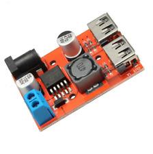 Dual USB 9V /12V /24V /36V to 5V 3A DC-DC car charger power supply module Solar