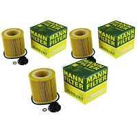 3x Original MANN-FILTER Ölfilter Oelfilter HU 816 z KIT Oil Filter