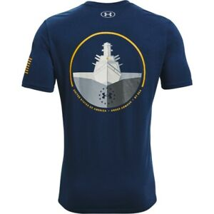 Under Armour 1362056 Men's UA Freedom By Sea Graphic Tee Short Sleeve T-Shirt