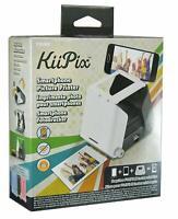 KiiPix Portable Smartphone Picture Printer No Batteries Required - Gray - [LN]™